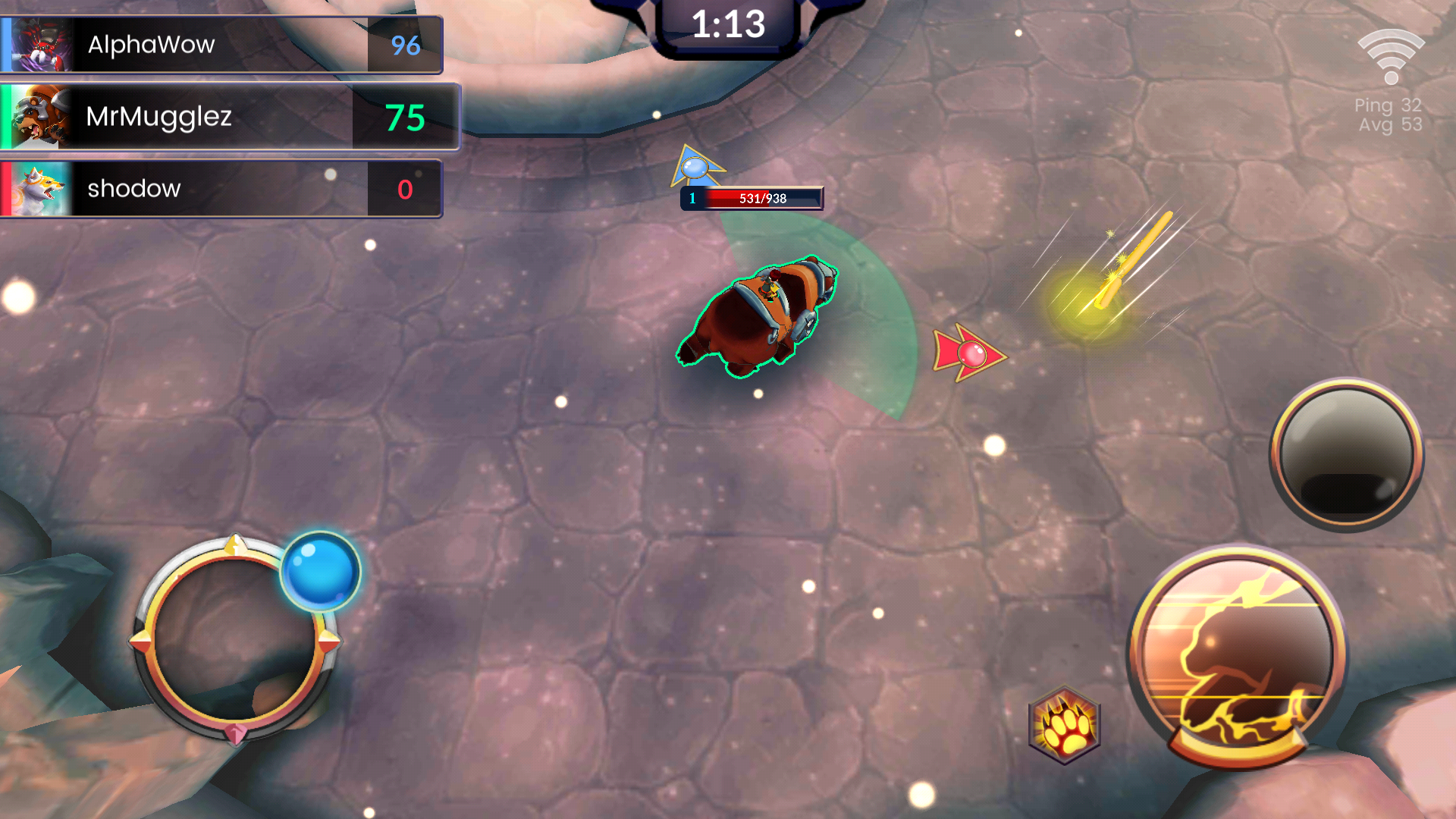 Beast Brawlers Gameplay screenshot